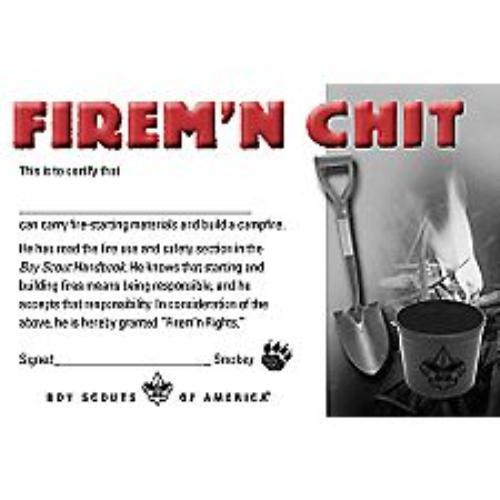 boy scout uniform patch placement firemn chit