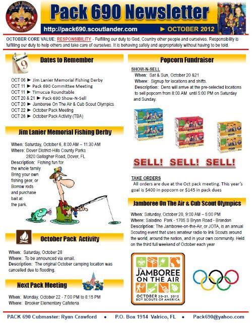 aspx login page template - public newsletters cub scout pack 690 brandon florida