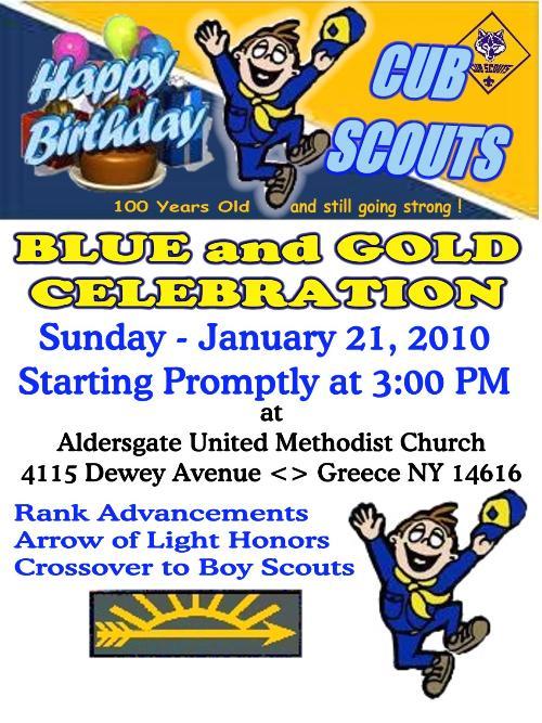 public mar 21 blue gold cub scout pack 14 greece new york