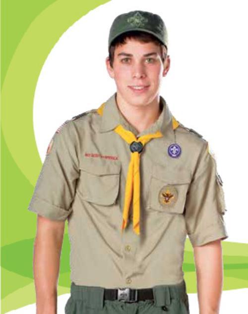 boy scouts class a uniform