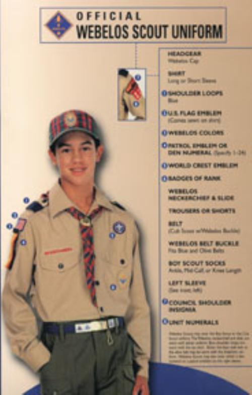 from Princeton boy scouts class a uniform