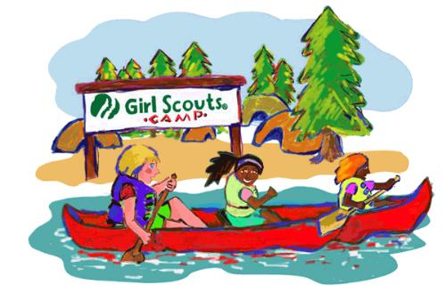 public summer camp   girl scout troop 1482 san tan valley