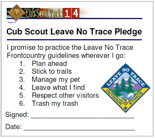 outdoor code bsa