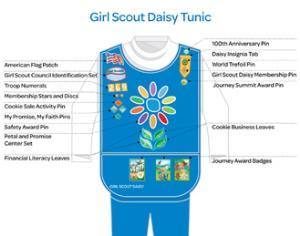 public daisy uniform   girl scout troop 211 glendale