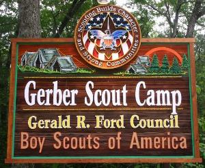 Public Gerber Scout Camp Boy Scout Troop 223 Comstock